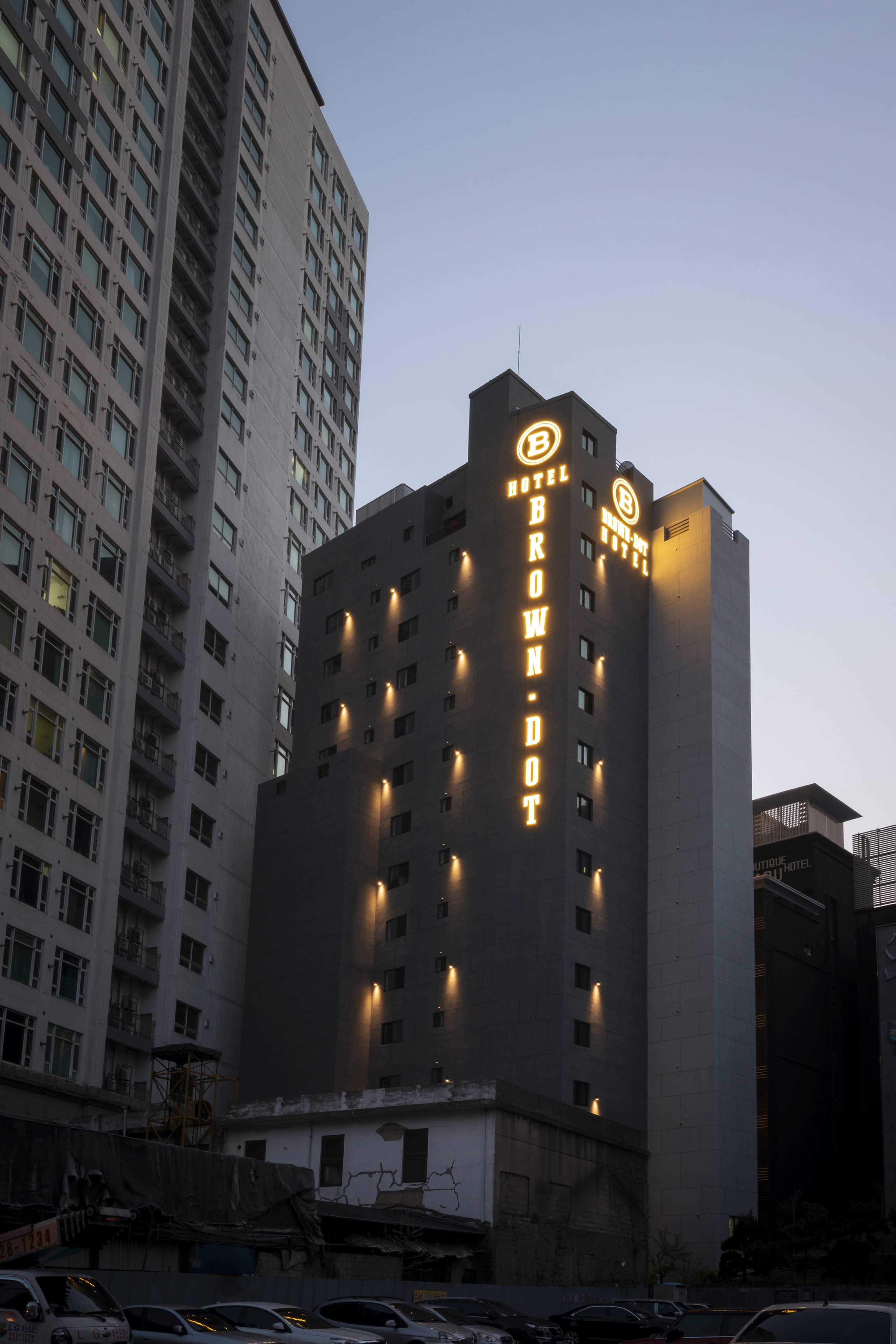 2020. 12월 숙소 서면 브라운도트 호텔 골드