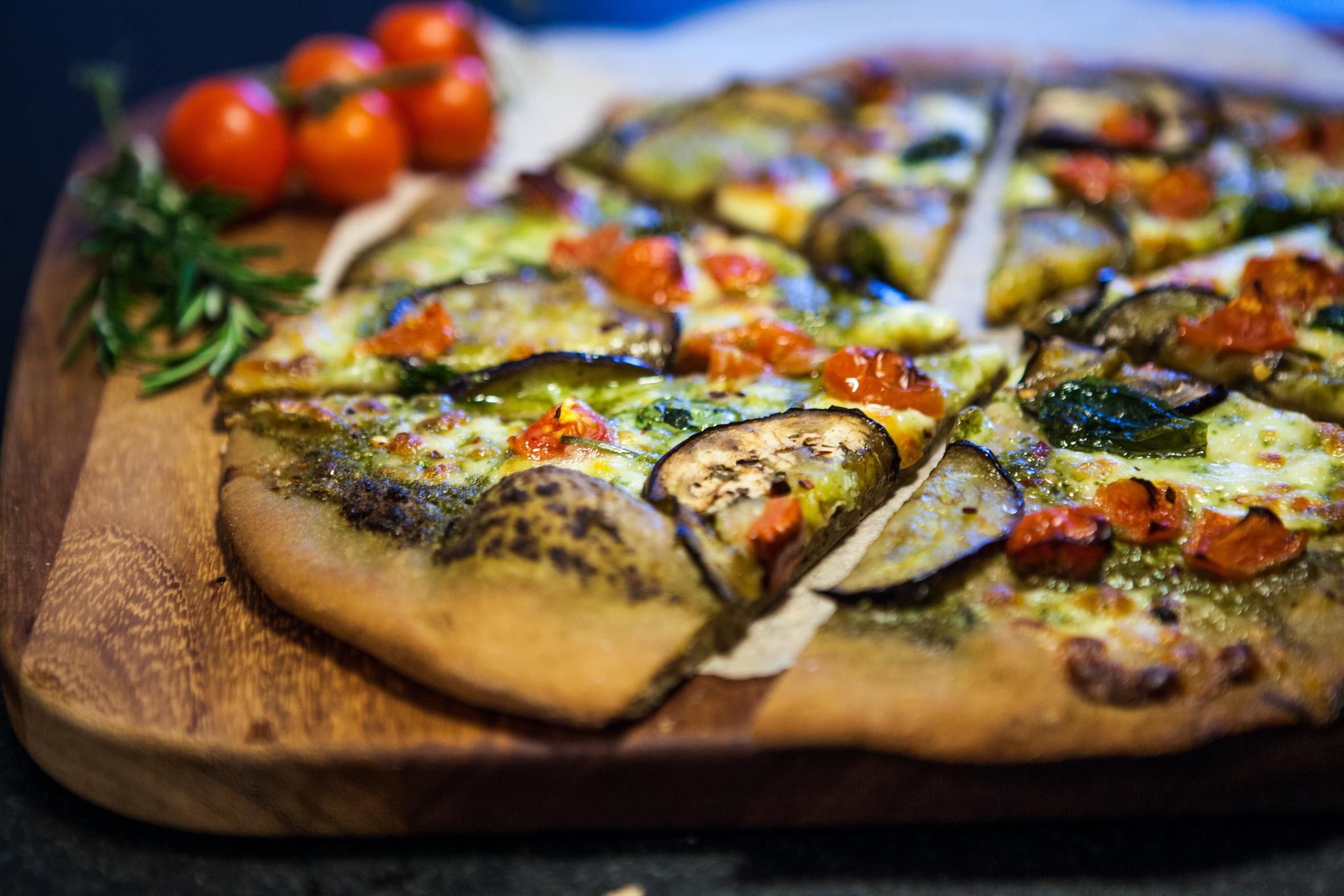 Pizza bottom with Agrain® 02 Maskmel IPA