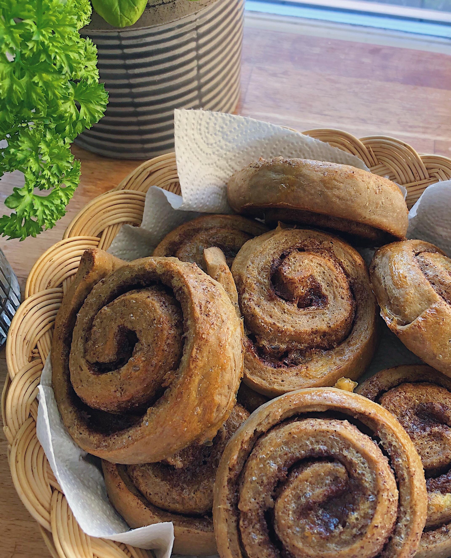 Cinnamon snails with Agrain® 04 Maskmel Whisky