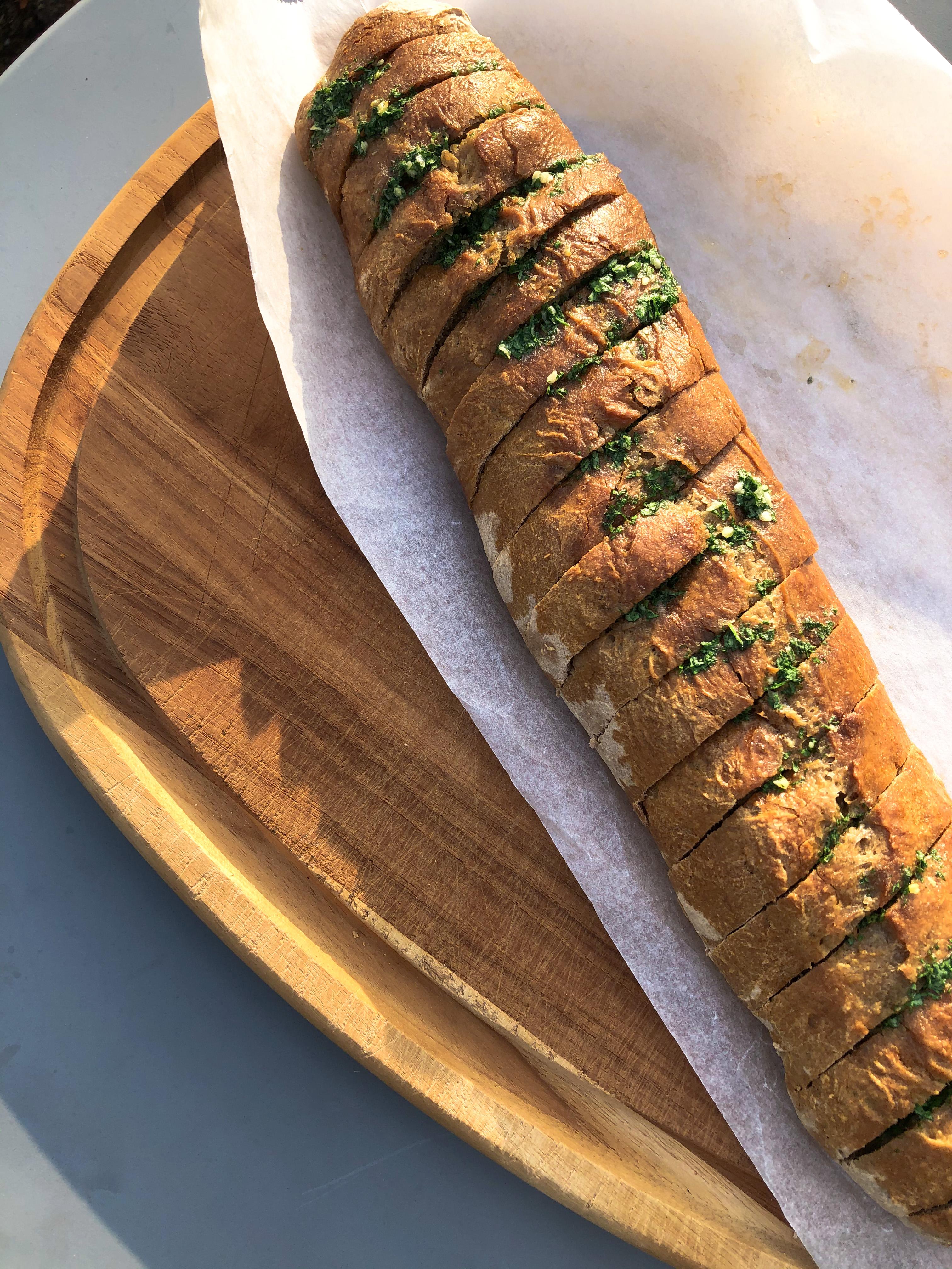 Garlic flute with 05 Agrain® Smoked Super Grain Flour