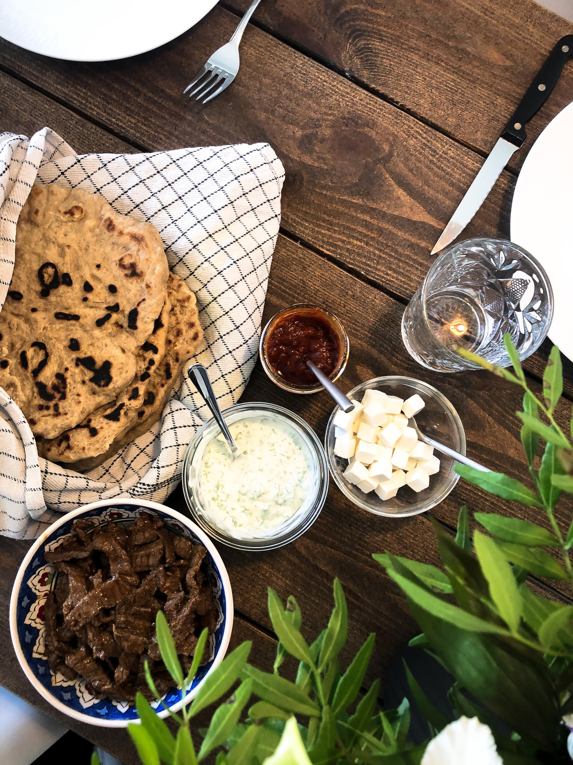 Arabic Inspired Flatbread with Agrain® 05 Smoked Super Grain Flour