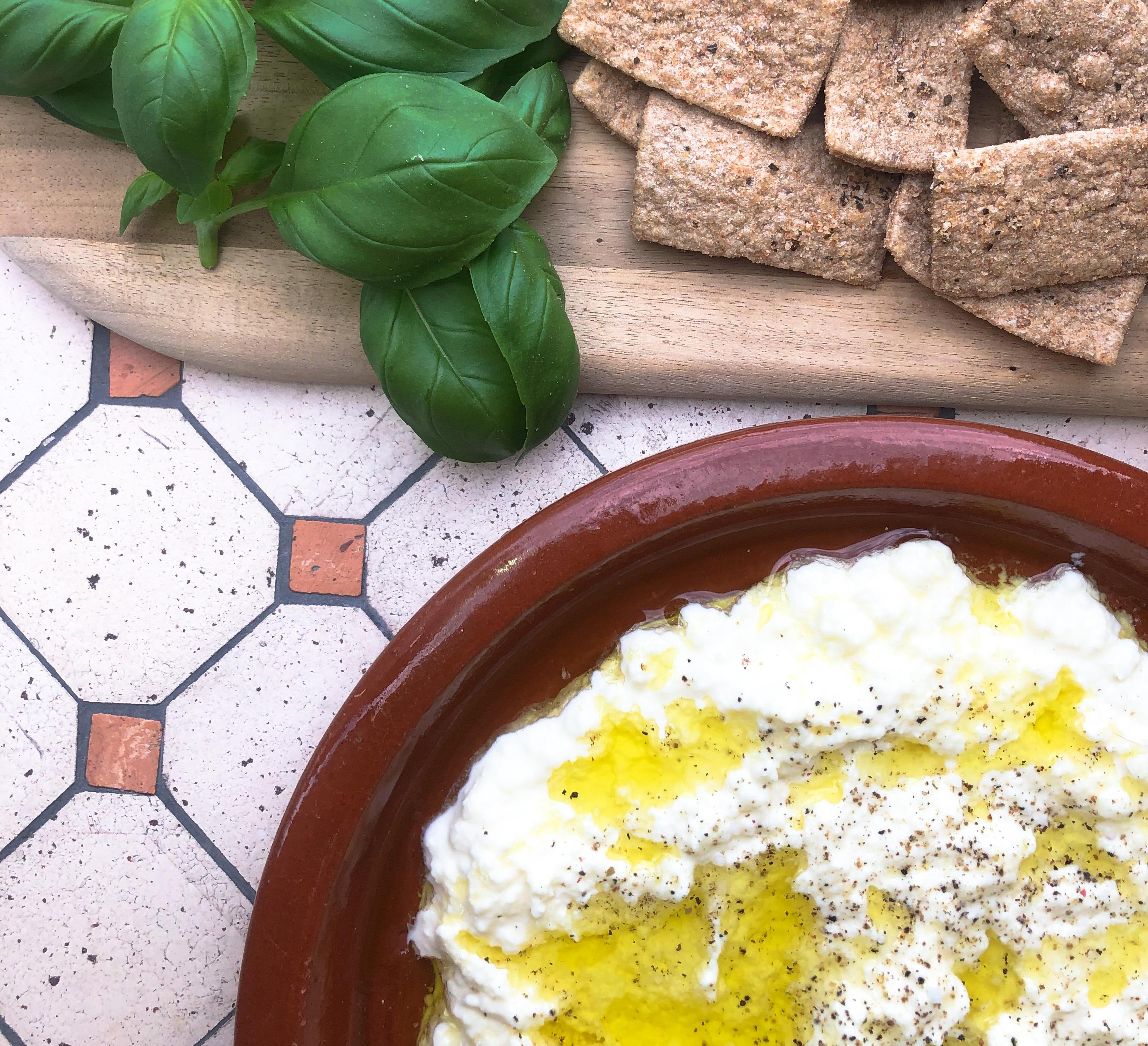 Italian Stracciatella cheese