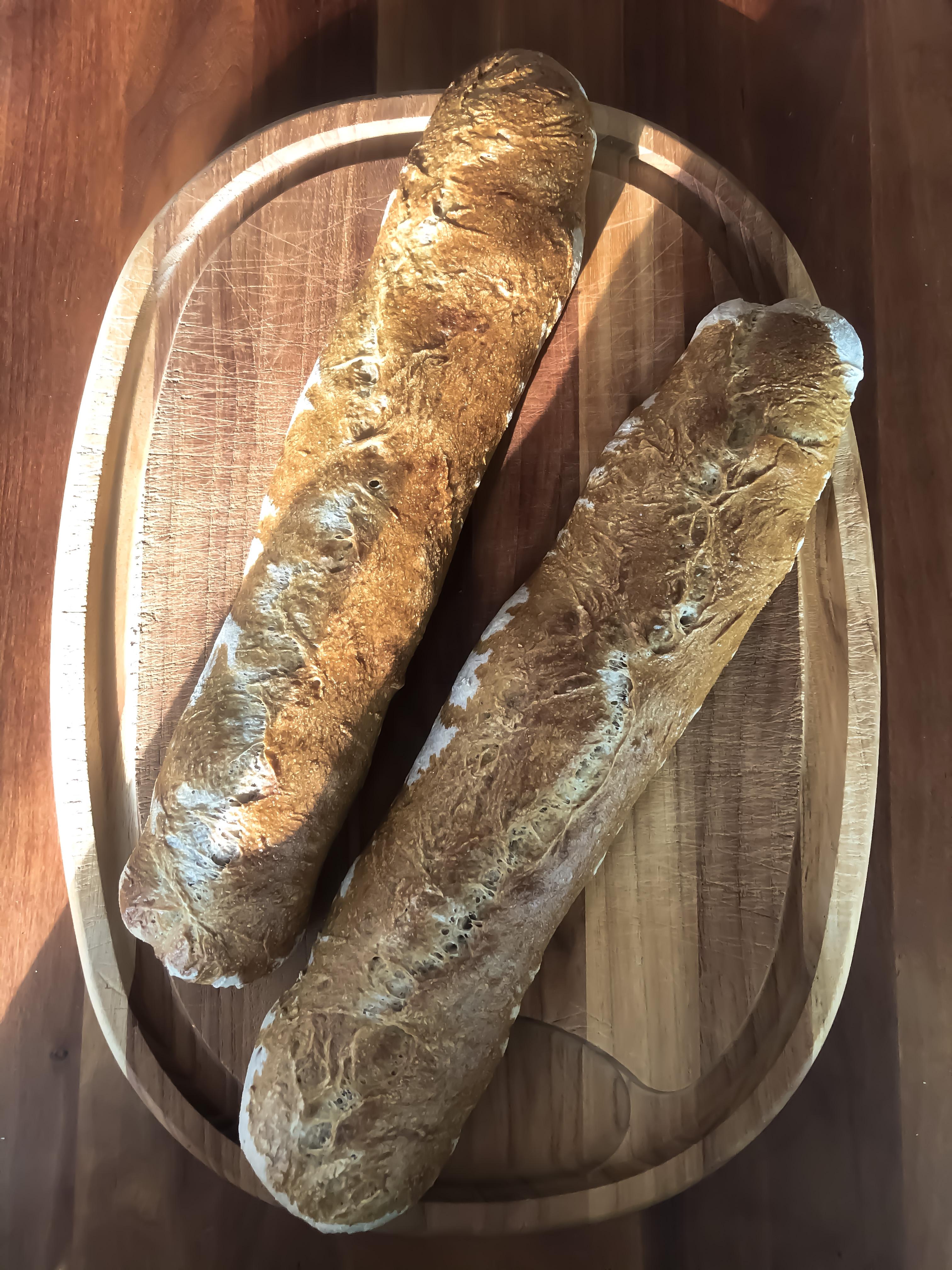 Flute with Agrain® 05 Smoked Super Grain Flour