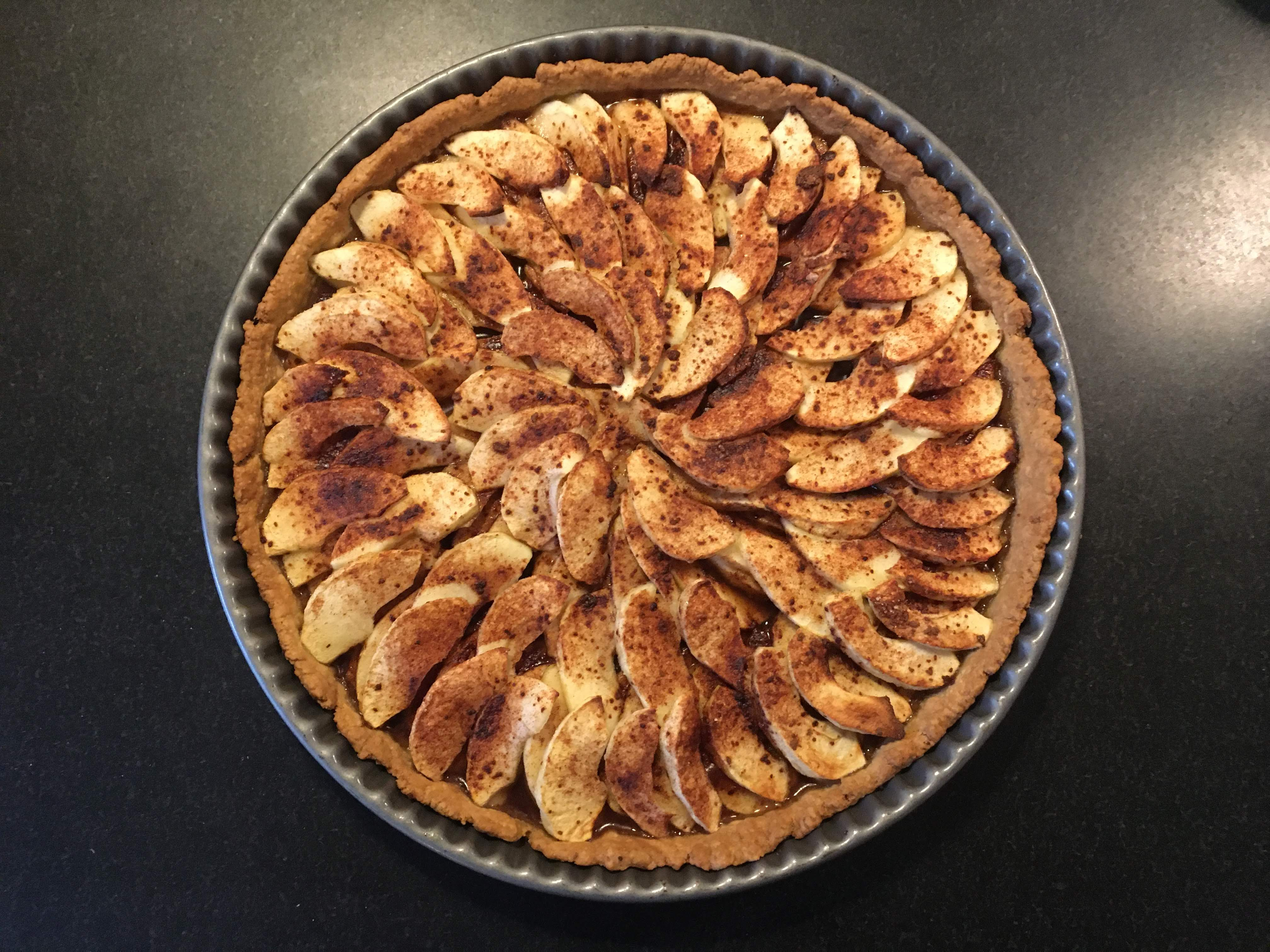 Apple pie with Agrain® 04 Whiskye Super Grain Flour