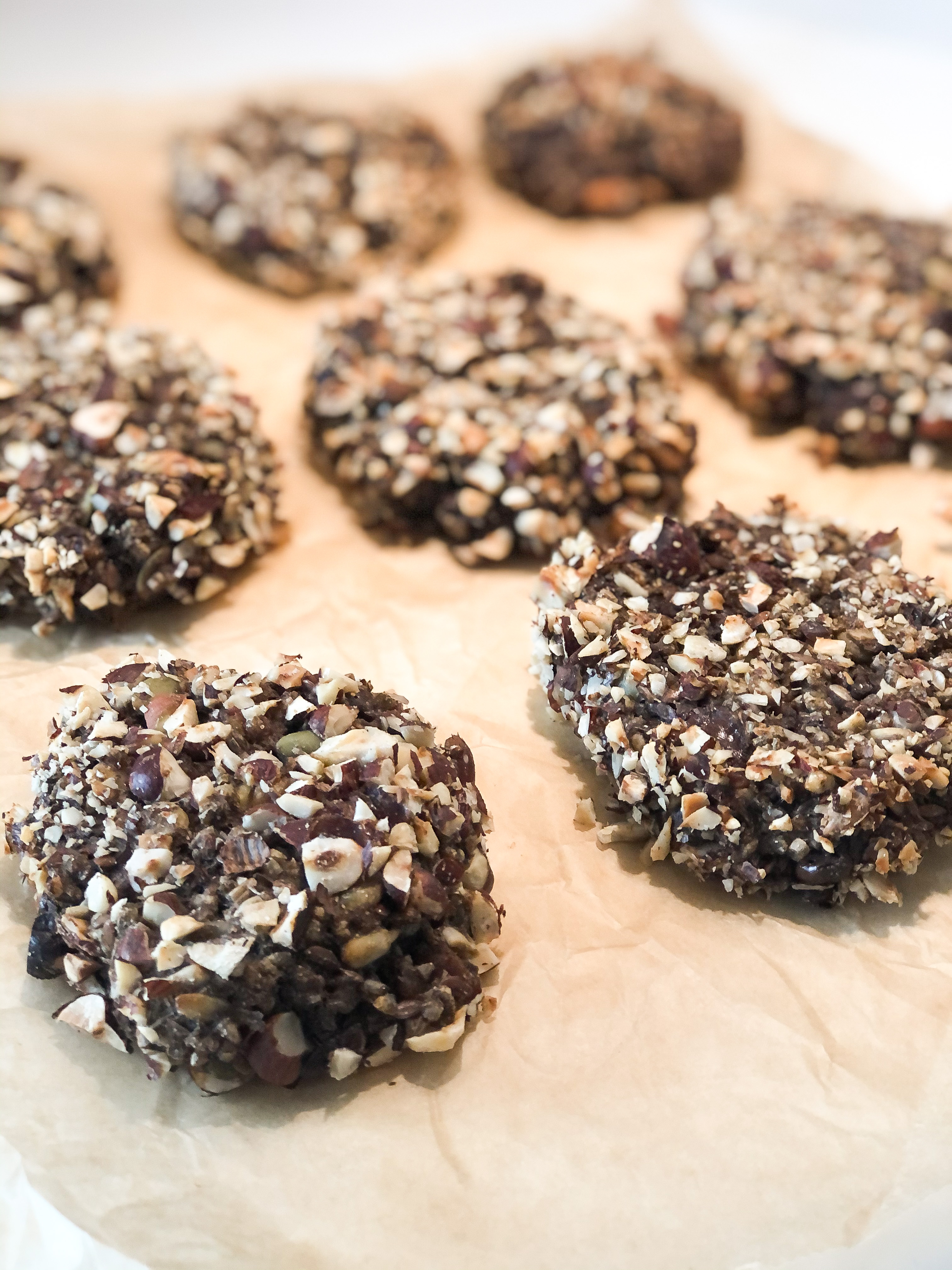 Rye bread buns with chocolate and Agrain® 03 Stout Mask flour