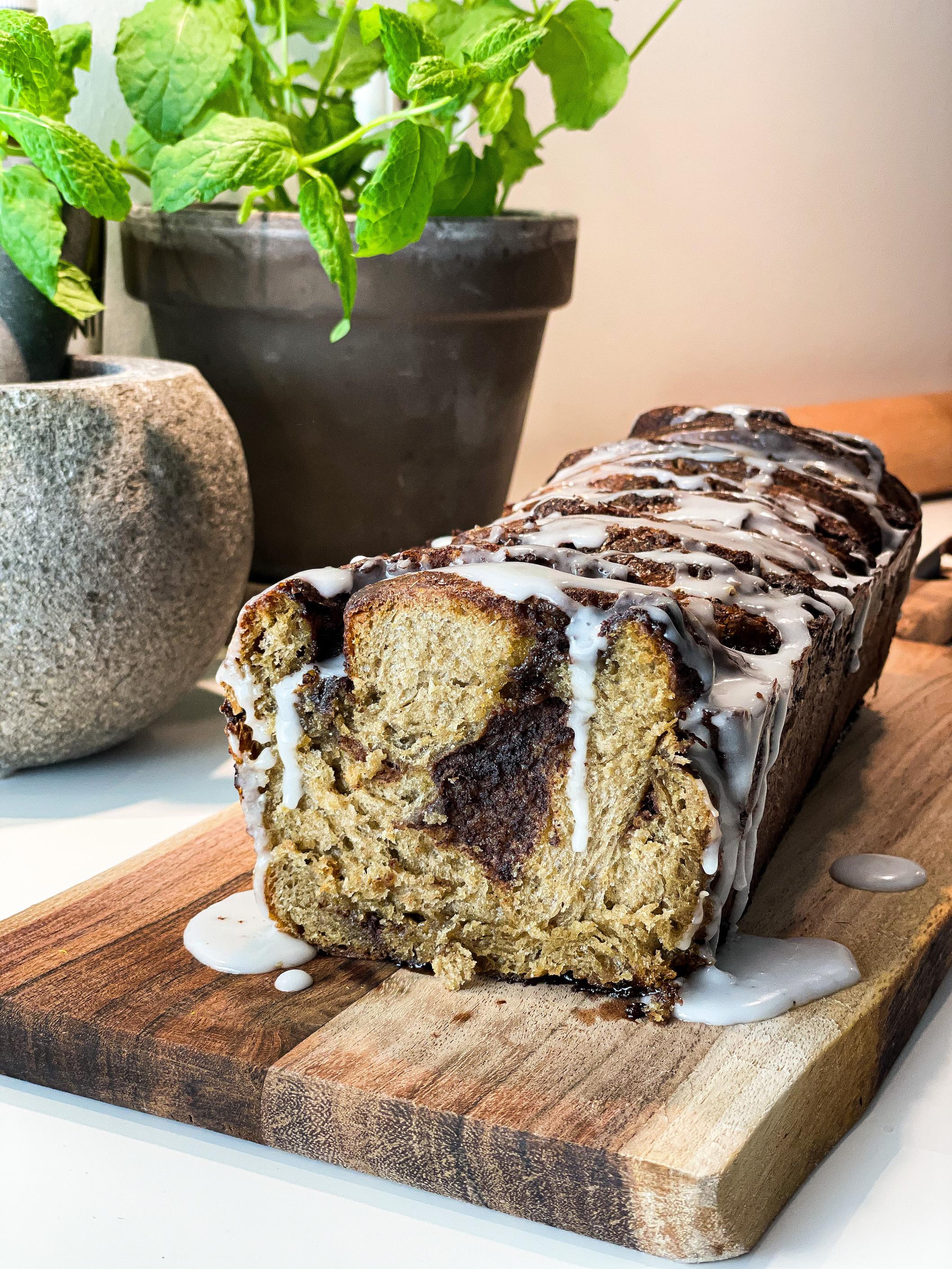 Cinnamon bread with Agrain® 03 Stout masquerade