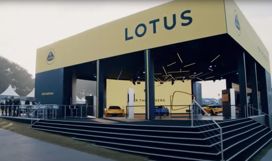 Lotus at Goodwood 2021.