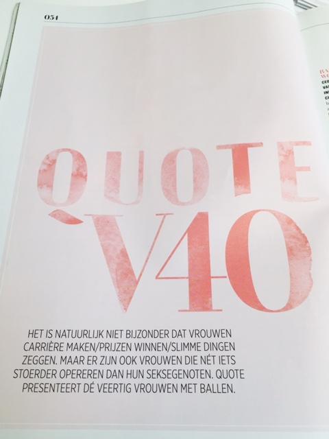 Marielle van Essen in de QuoteV - c