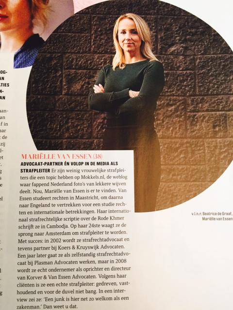 Marielle van Essen in de QuoteV - b