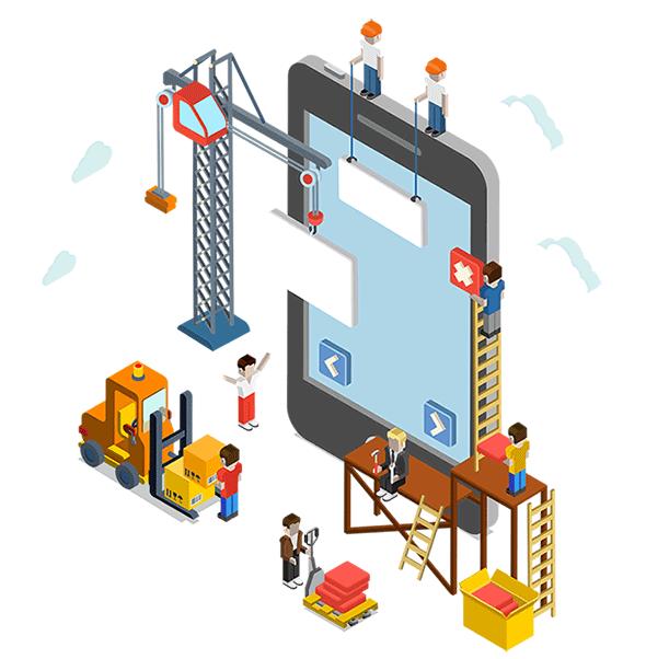 application sur mesures pour vos chantiers
