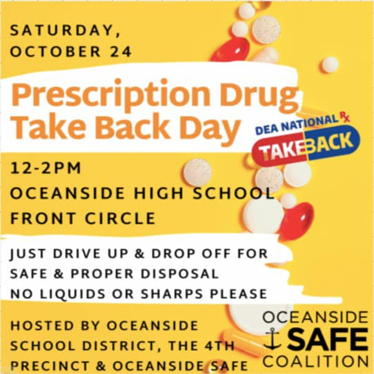 Prescription Drug Take Back Day!