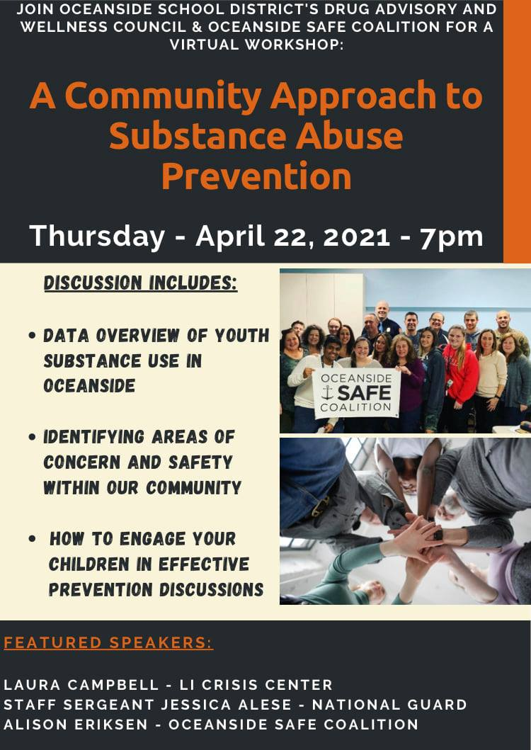 A Community Approach to Substance Abuse Prevention - Virtual Workshop