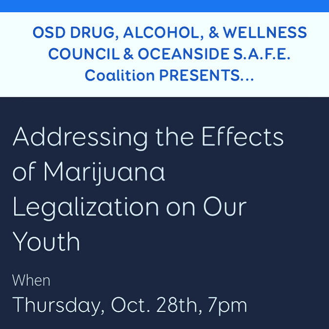 Addressing the Effects of Marijuana Legalization on our Youth