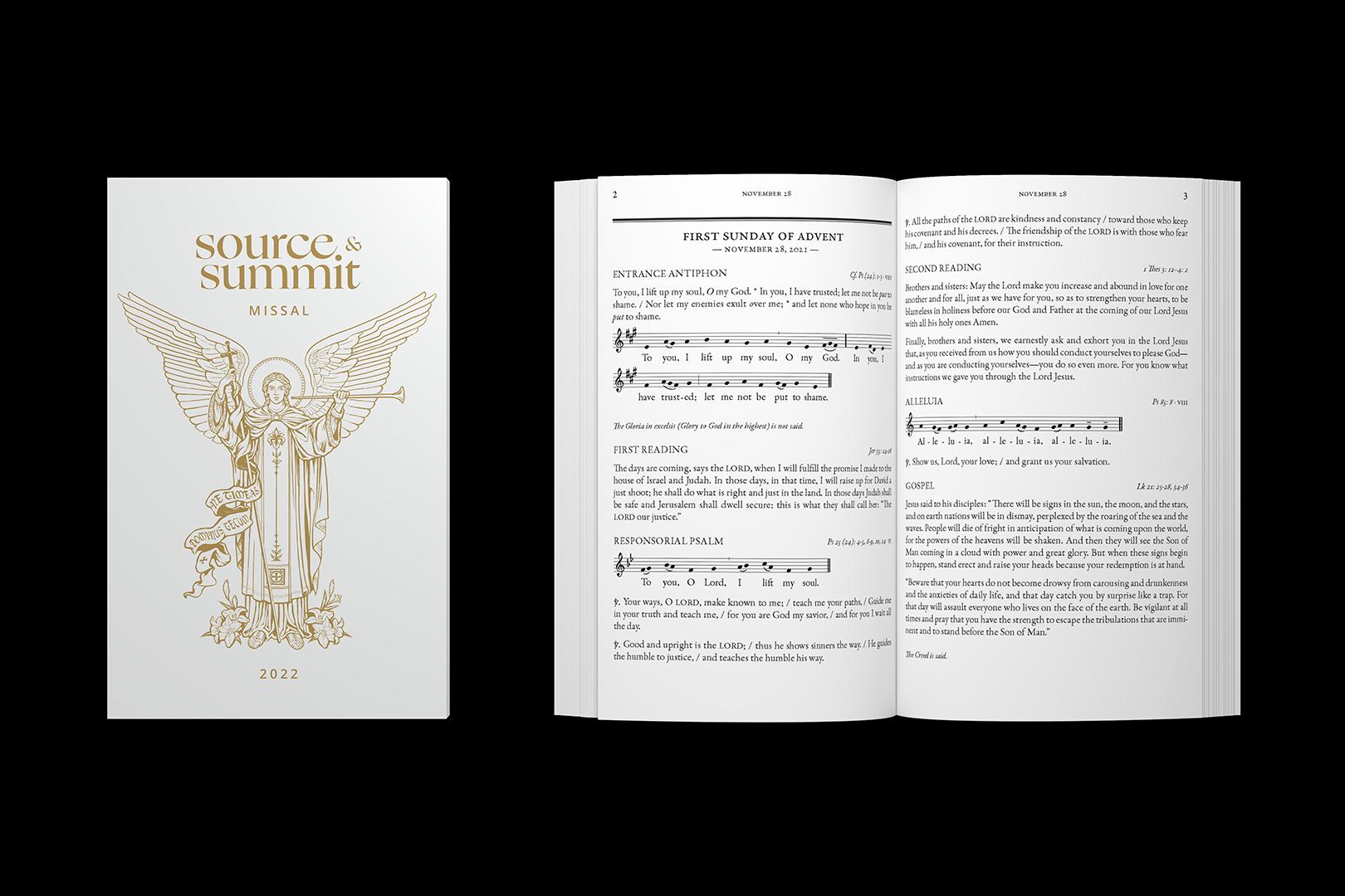 Catholic Missal Source & Summit 2021