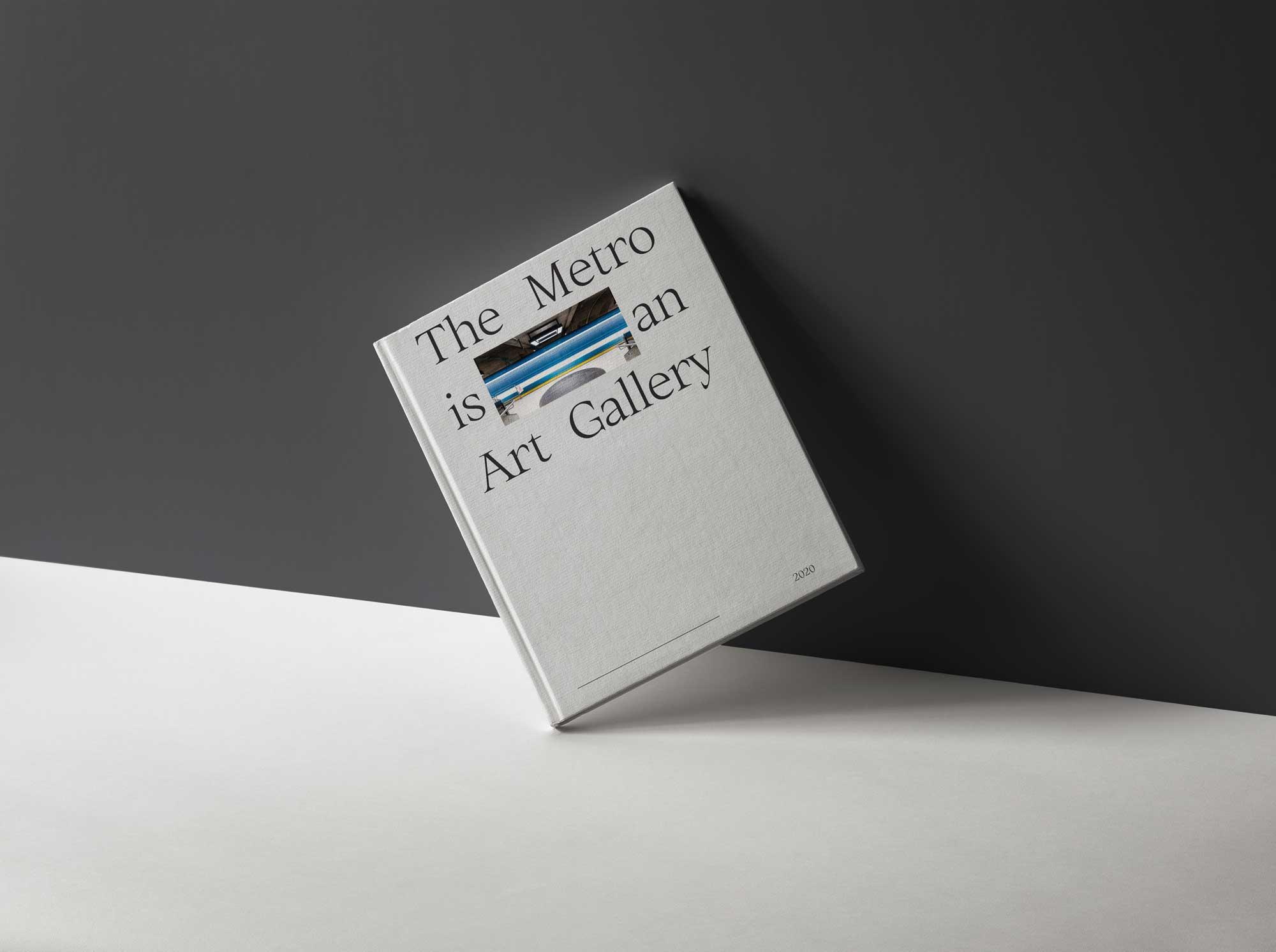 grey book against wall