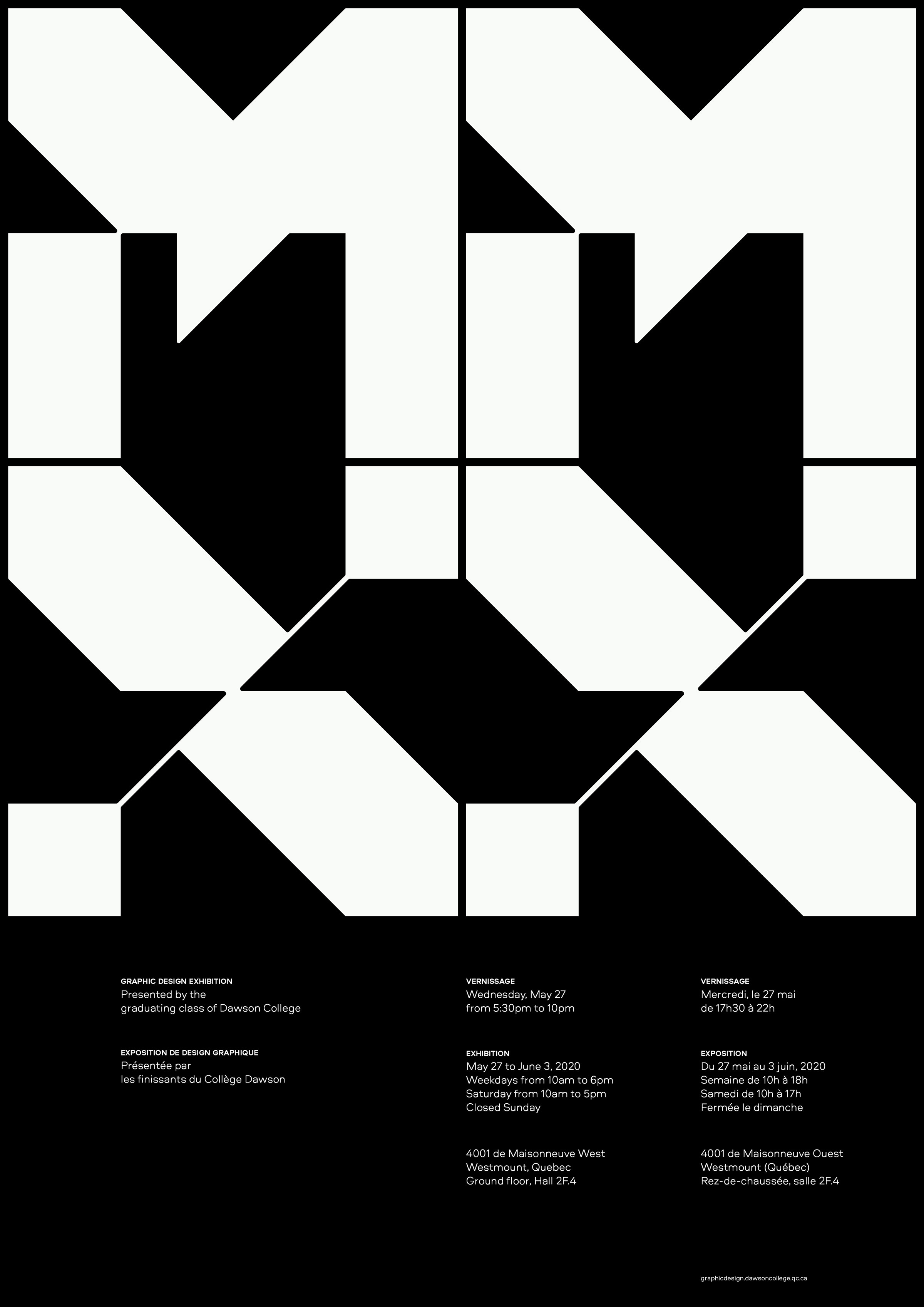 MMXX poster