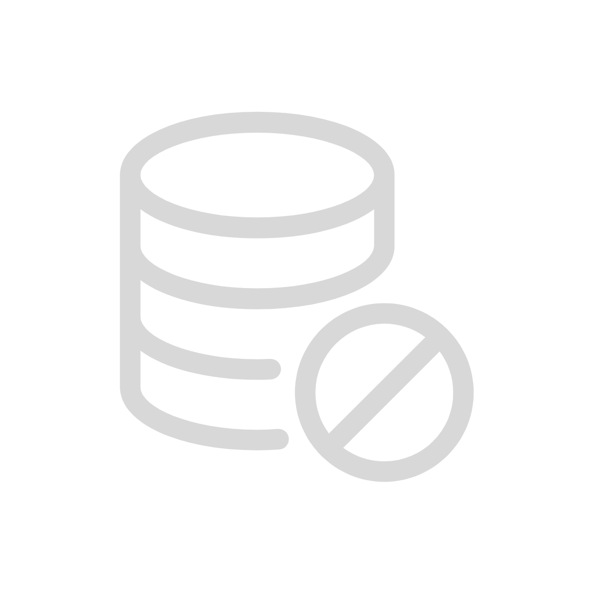 Data cleansing icon