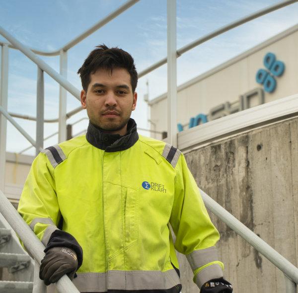 Driftklart arbetar med underhållsprojekt på VASYDs avloppsreningsverk