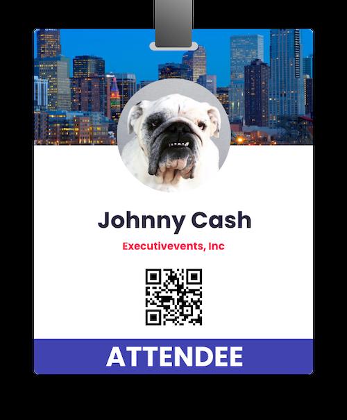 Event badge design