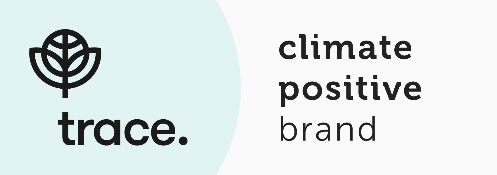 Offset badge - Climate positive brand