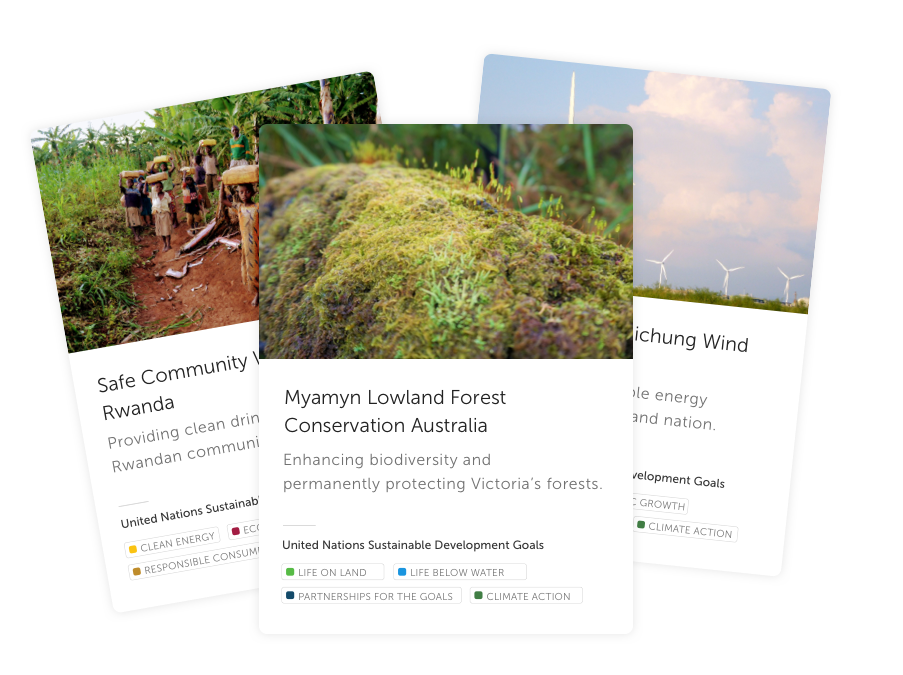Certified climate projects images