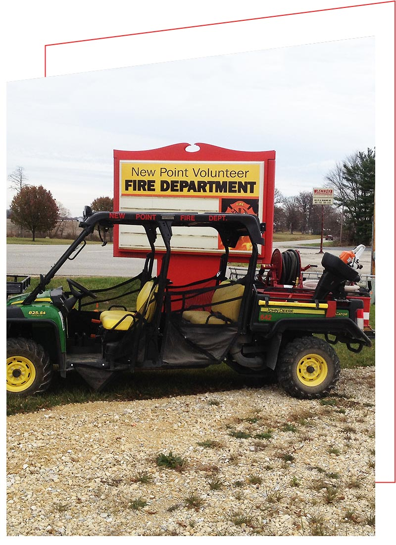 QTAC Fire and Rescue Skids for the John Deere Gator