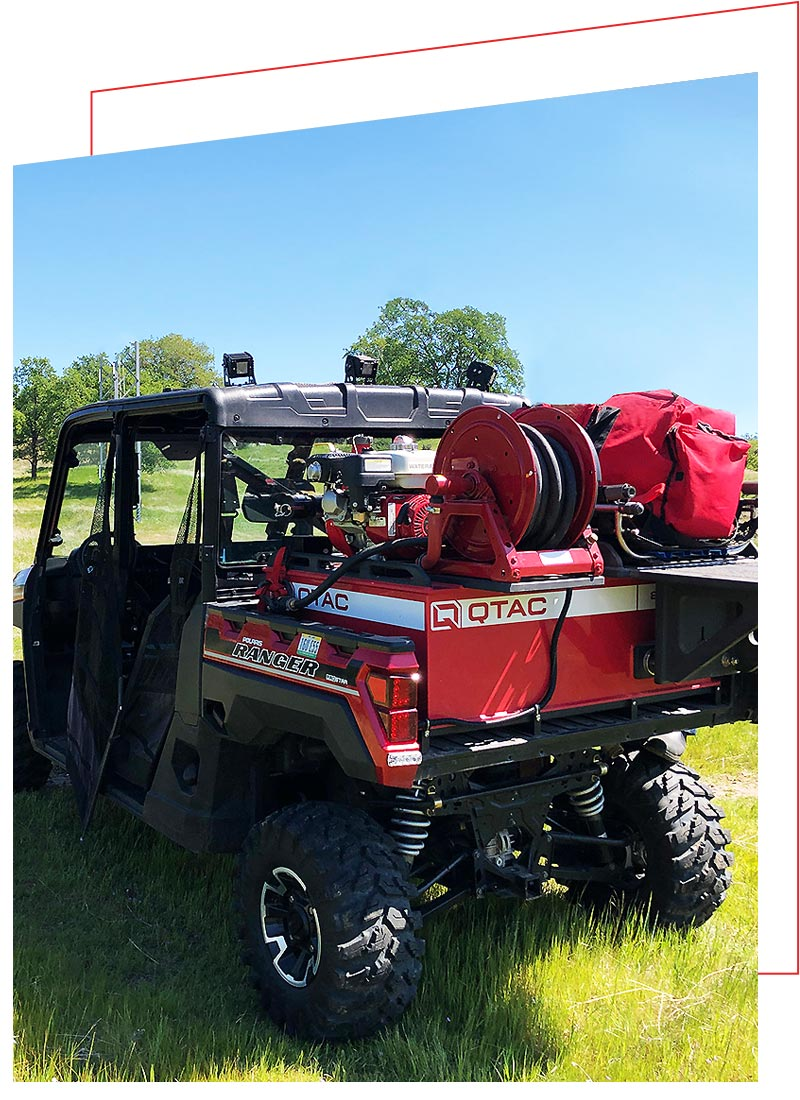 QTAC Fire and Rescue Skids for the Polaris Ranger