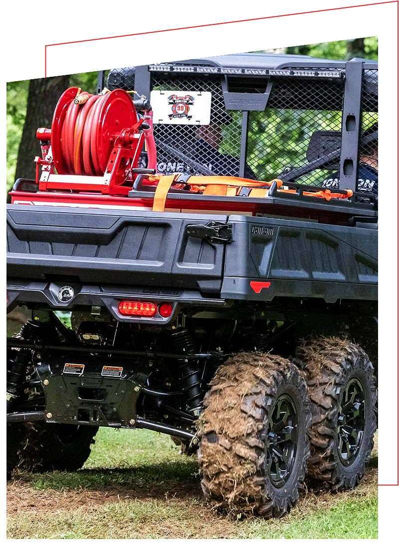QTAC Fire and Rescue Skids for the Can-Am UTV