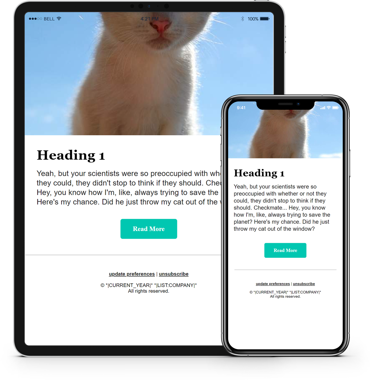 Tutorial: Basic HTML Template for Mailchimp