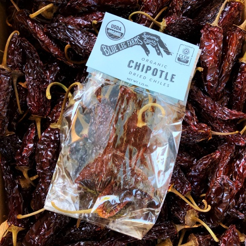 Dried Chipotle Chilies