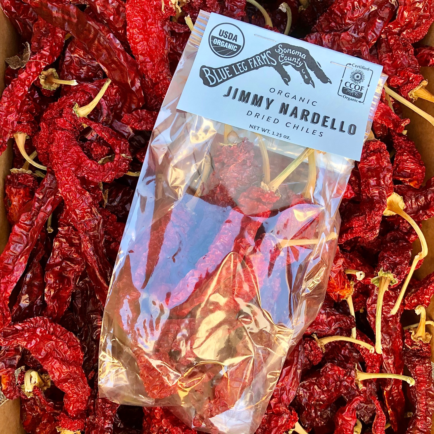 Dried Jimmy Nardello Chilies