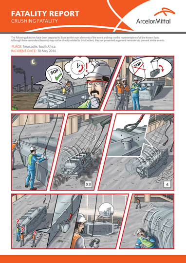 Arcelor Mittal Visual Incident Report