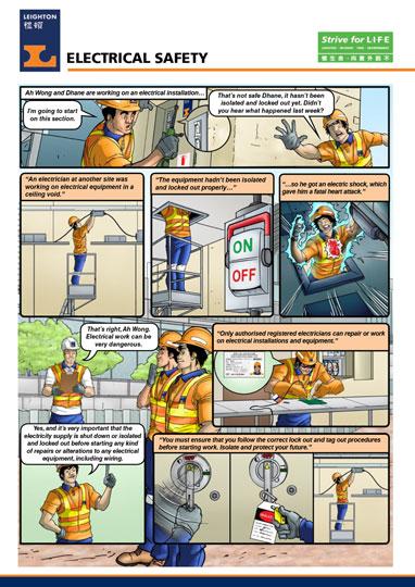 Leighton Asia Safety Comic