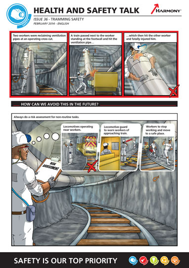 Harmony Gold Safety Comic