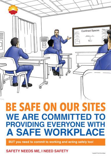 PetroChina Safety & Motivational Posters