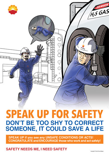 PetroChina Safety & Motivational Posters