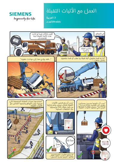 Siemens Key Message Poster