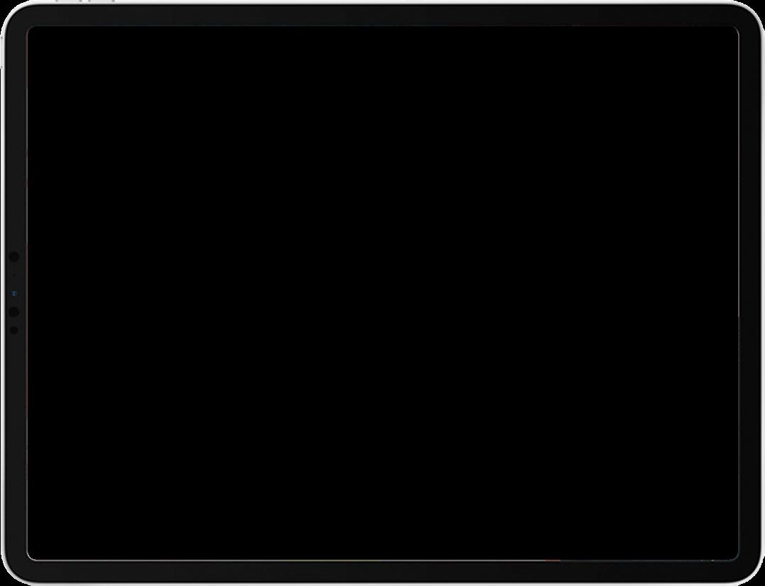 iPad Header Frame