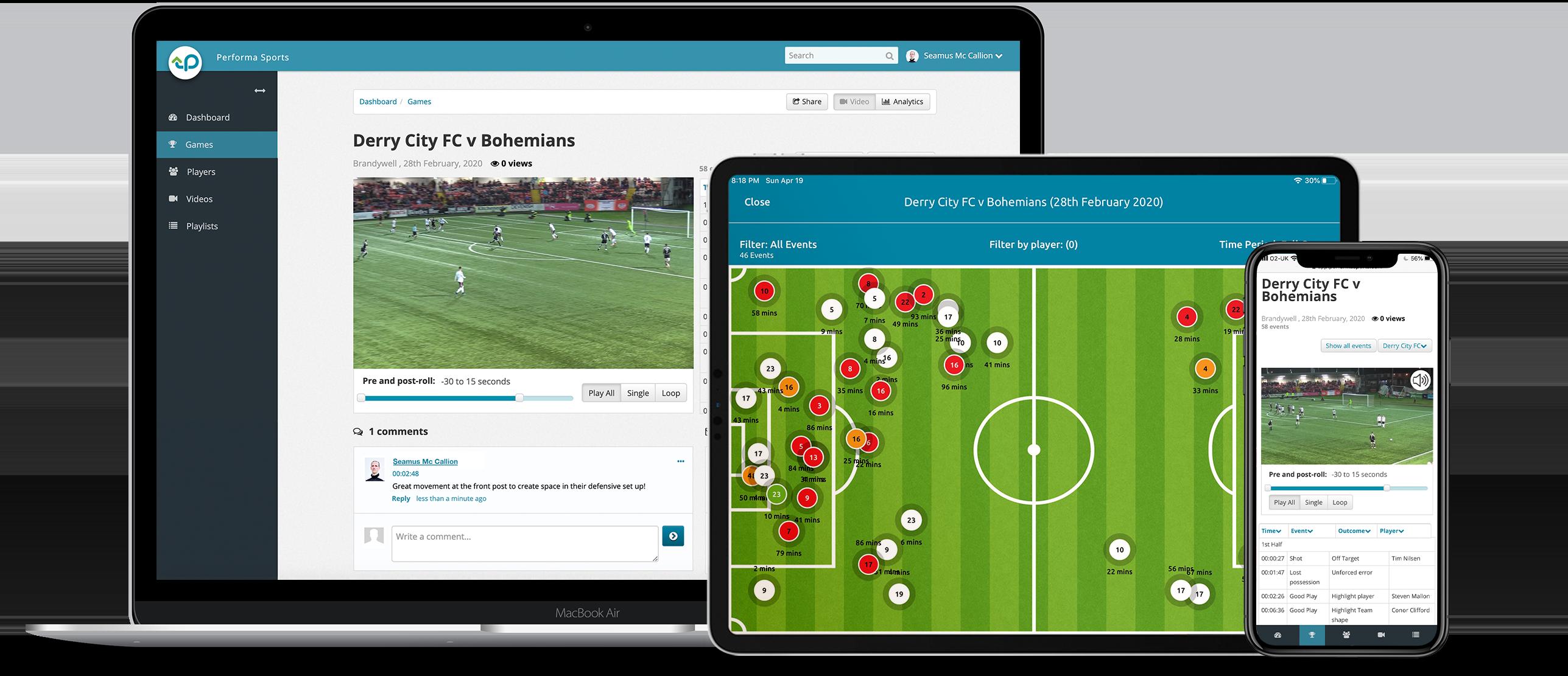 iPad App & Web Platform
