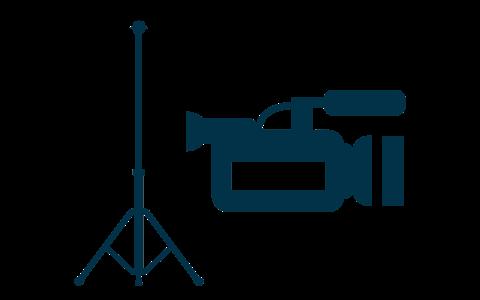 Pro Elevated tripod icon