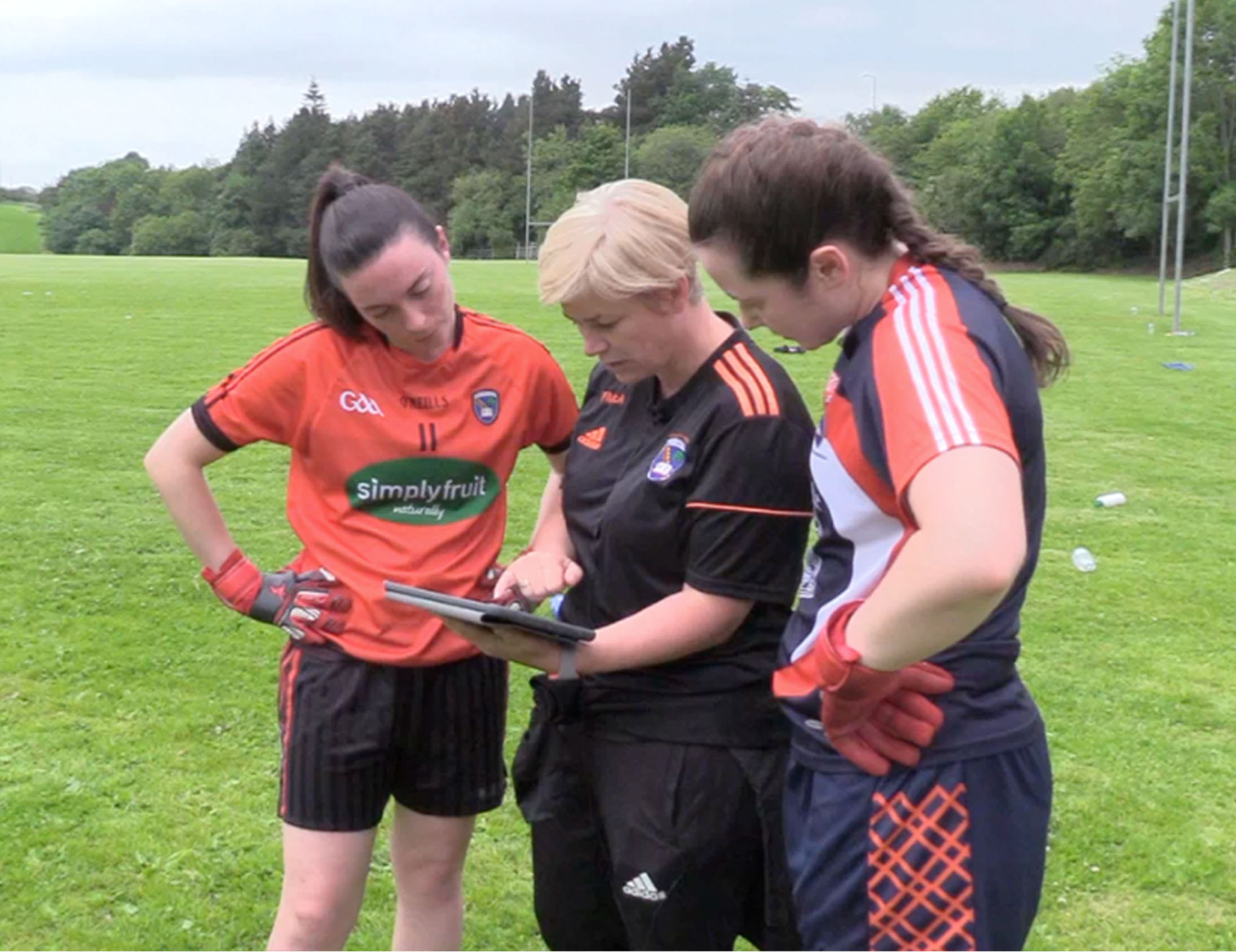 Armagh Ladies Gaelic Footballers gain an edge with Performa Sports
