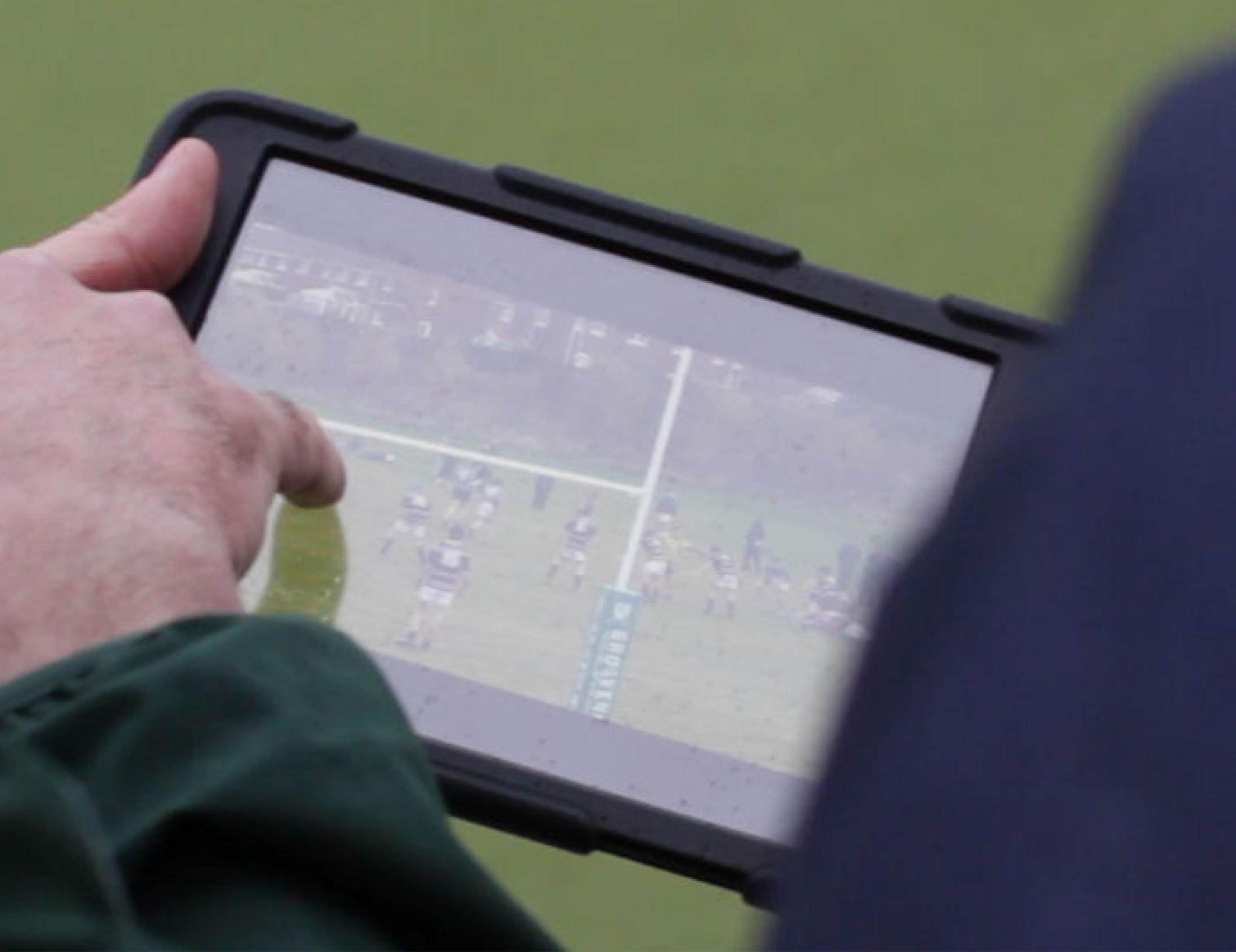 Rugby visual coaching with Performa Sports iPad app