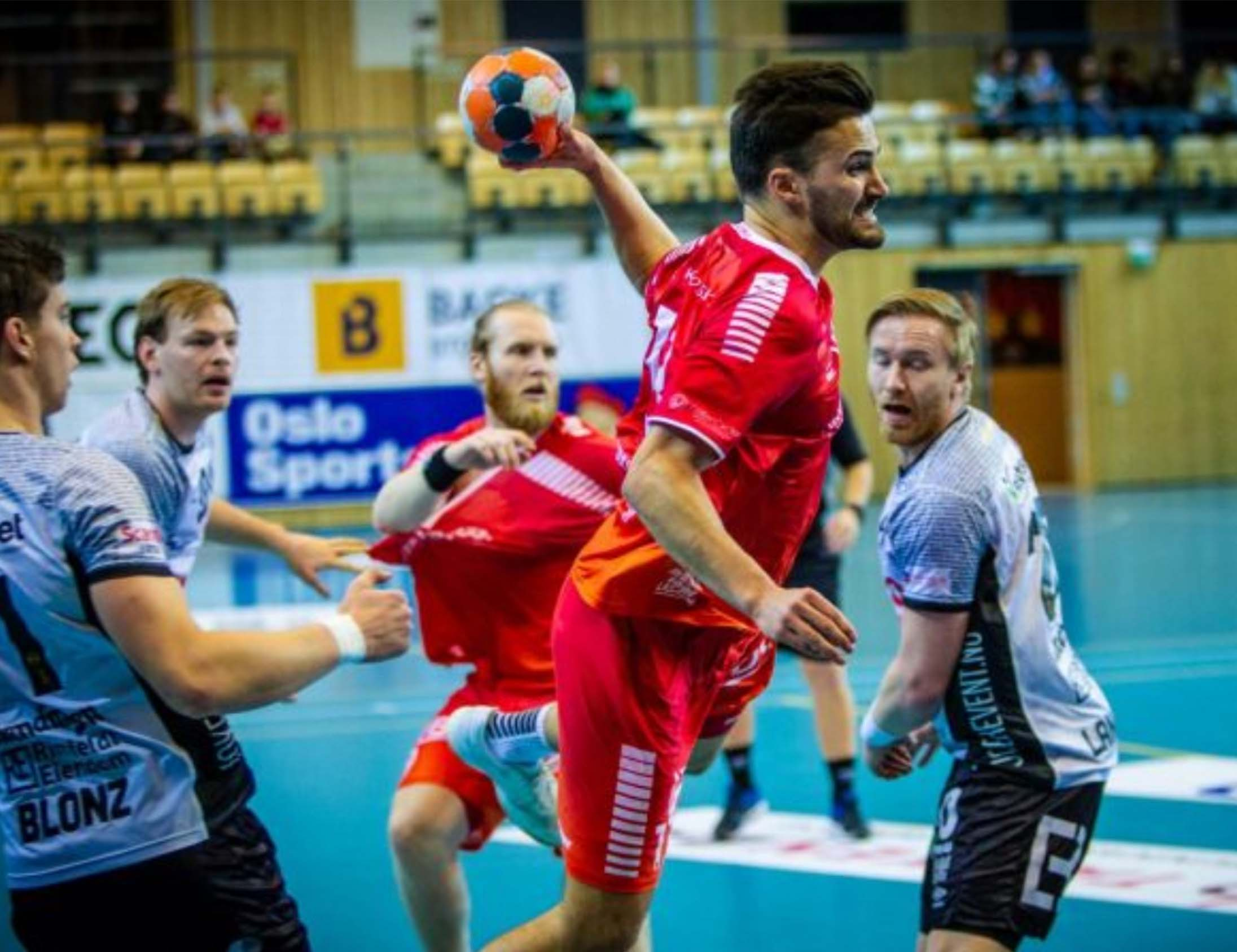 Haslum IL Handball players gain an edge with Performa Sports