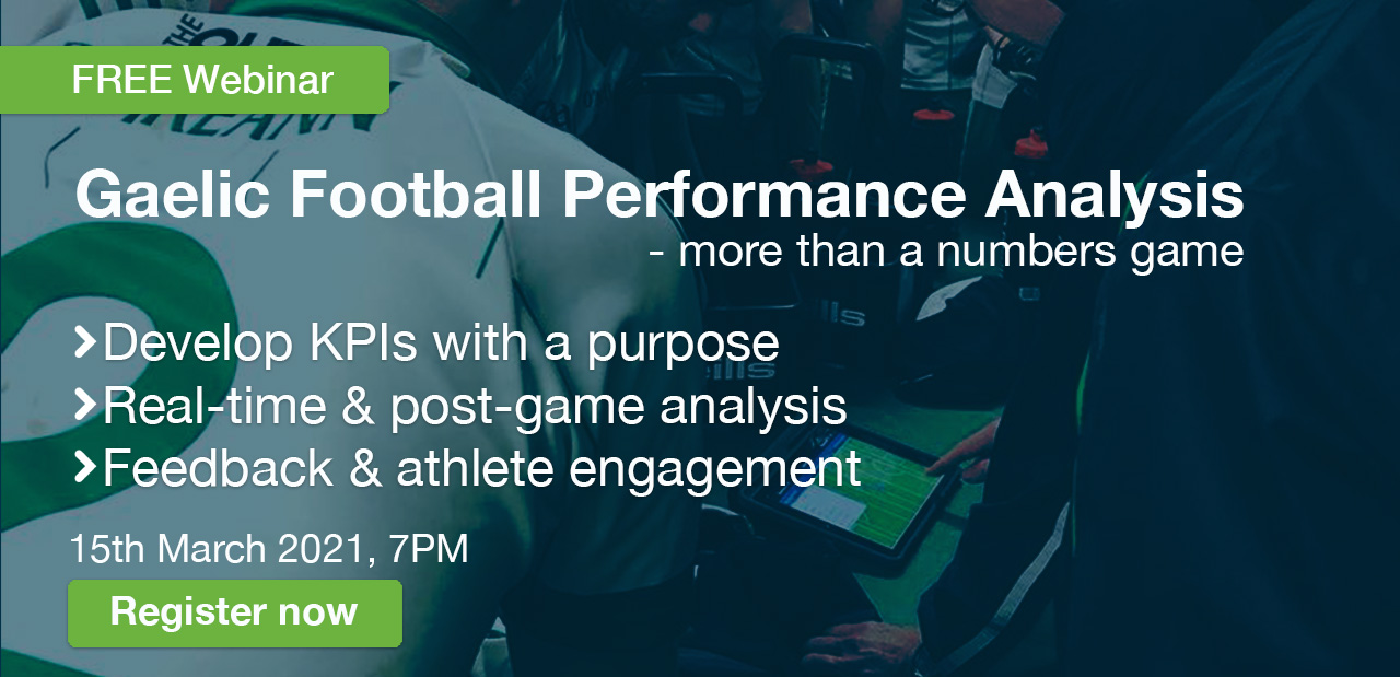 WATCH: Gaelic Football Performance Analysis Webinar - Mar 15th, 2021