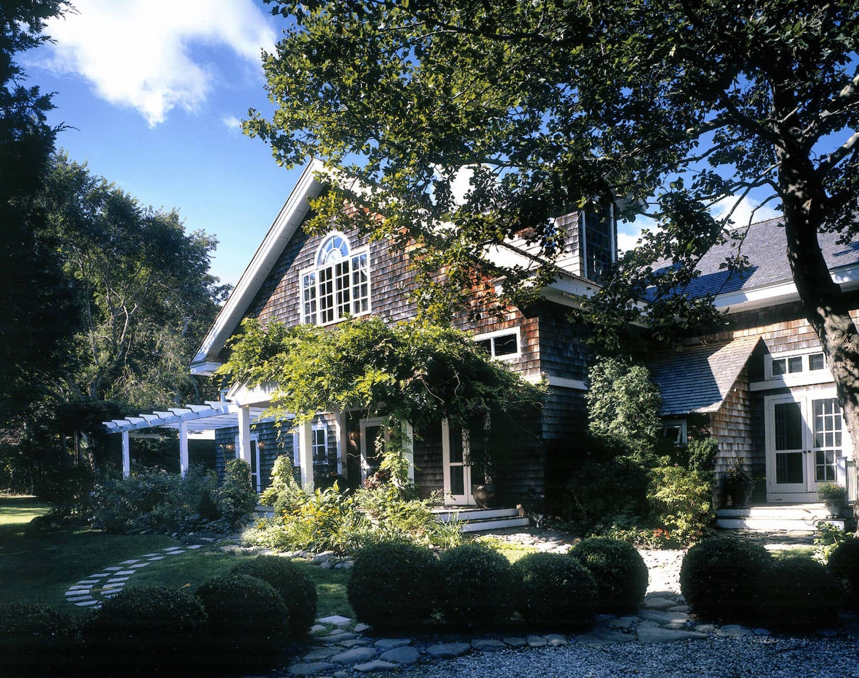 Exterior of Quogue Residence.