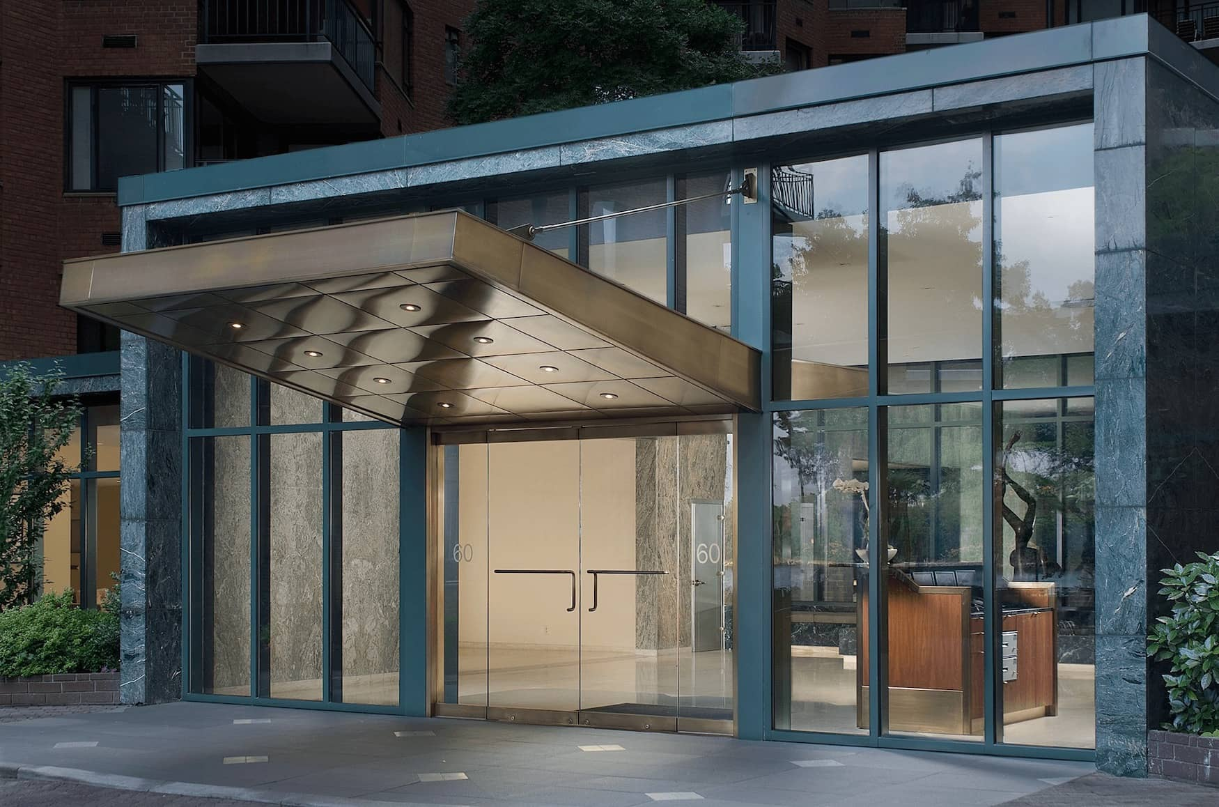 60 Sutton Place Lobby
