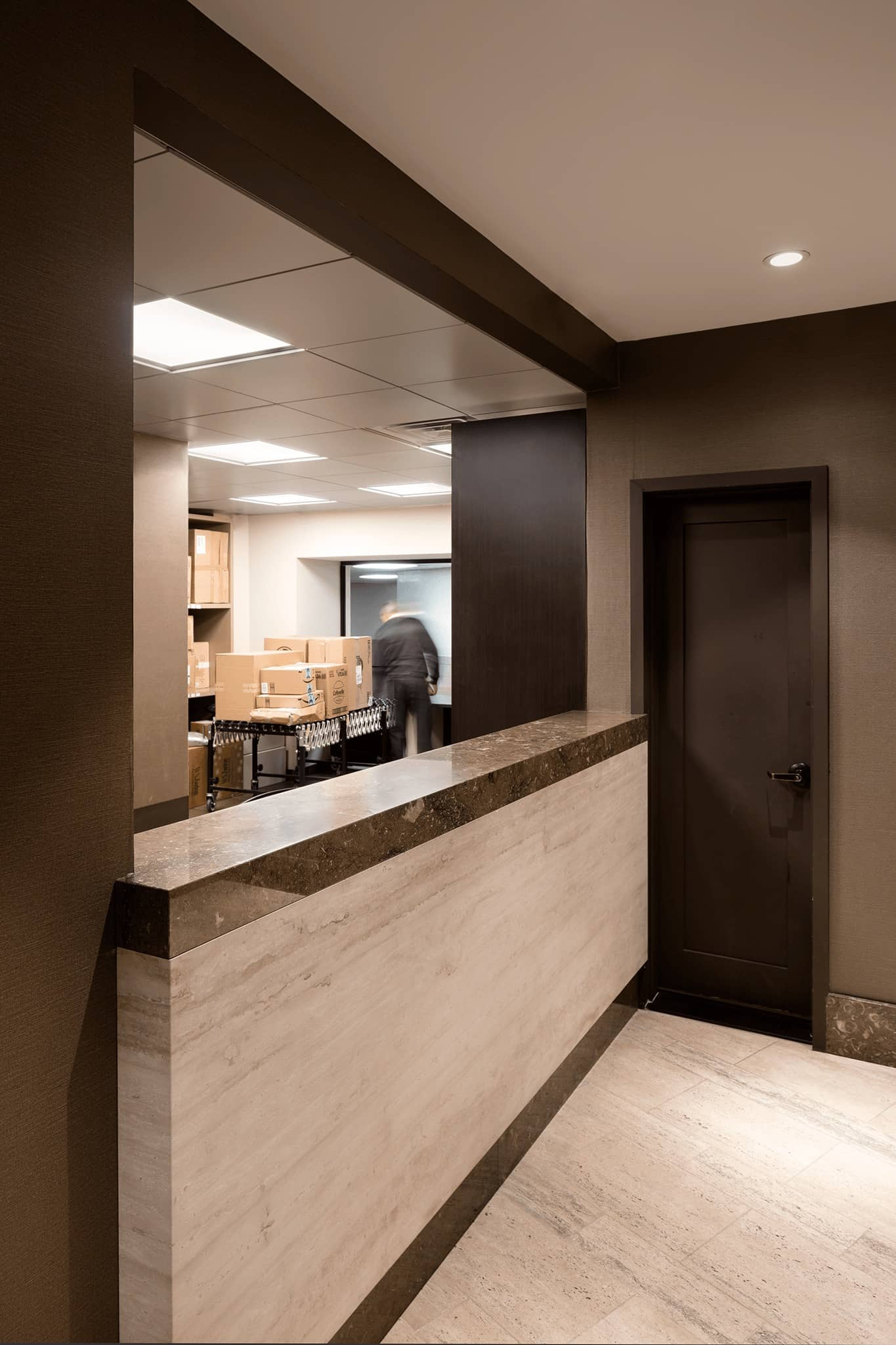 Package room at 1 Lincoln Plaza
