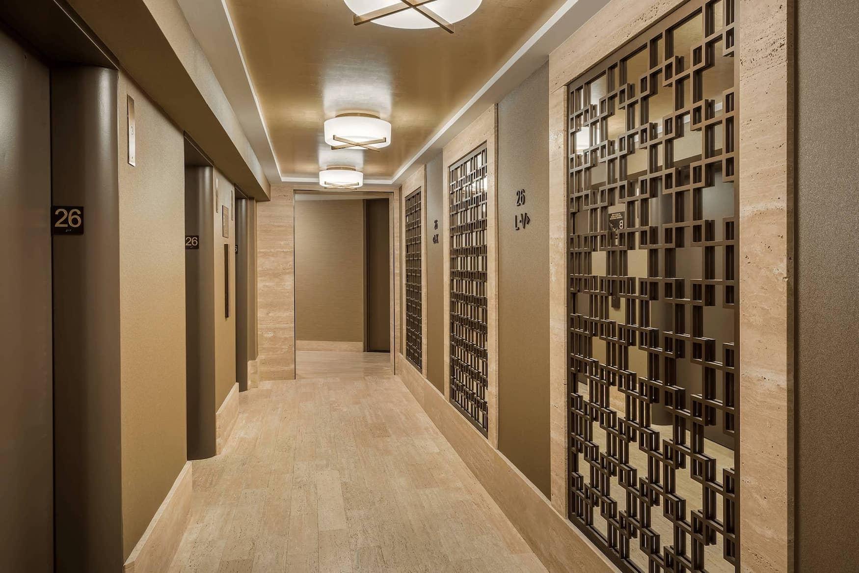 Hallway at 1 Lincoln Plaza