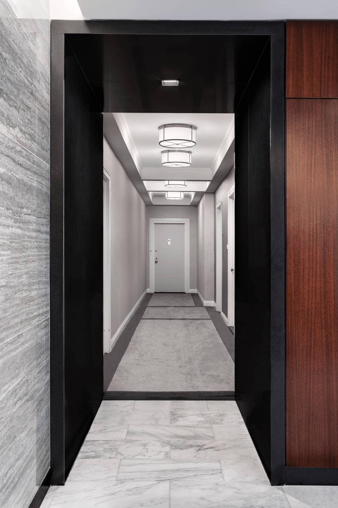 Hallway at 8 East 83rd Street
