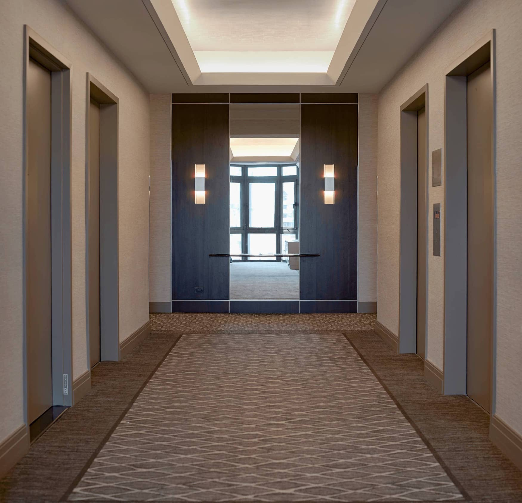 Hallway at The Bromley